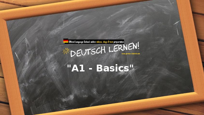 Basic German Videos: Zahlen 0 bis 10 + und das Alphabet mit den Buchstaben A bis Z