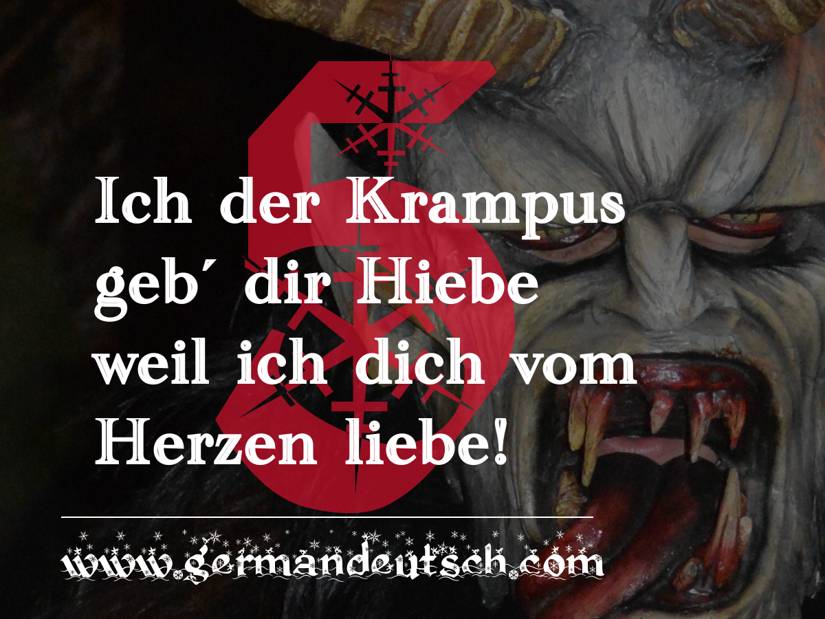 5. 12. – Adventskalender für den Deutschkurs