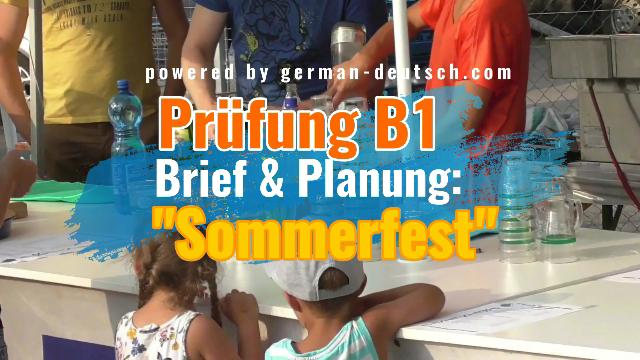 Gemeinsam Etwas Planen Deutsch Prüfung B1 Modul Sprechen