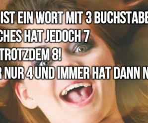 B1 Deutschrätsel: