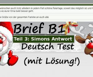 Wie schreibe ich eine Einladung (Deutscher Brief – Test B1):