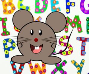 Deutsch für Kinder: ABC – das Alphabet mit der ABC-Deutschmaus üben.