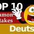 Test B1 Prüfung – Deutsch: 10 häufige Fehler (German common mistakes), die Deutschlerner machen