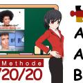 Neu: Deutsch lernen A 1 – B 1 Prüfung ! Mit der 20/20/20 Methode kannst du schnell Wörter lernen!