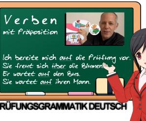 """Deutsch-Prüfung: Verben mit Präpositionen. """"Sich AUF die Prüfung vorbereiten"""" mit """"Grammatik aktiv"""""""