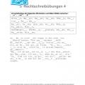 """Deutsche Rechtschreibung für die Deutschprüfung: Doppelkonsonanten (""""s"""", """"ss"""", """"ß"""") – Übung mit Lösung"""
