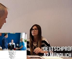 """Video zur Prüfung A2: Deutschtest mündlich (Sprechen Teil 2): """"Bildbeschreibung & Dialog"""""""