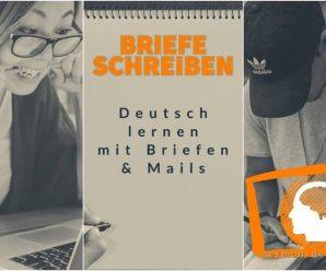 """Deutsch: Brief & E-Mail schreiben! A1, A2 und B1: """"Kennenlernbrief & Einladung"""". Sich vorstellen"""