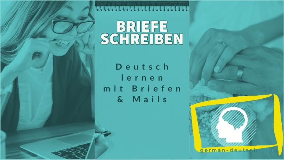 Hochzeit Deutsch Brief E Mail Schreiben A1 A2 B1 Einladung