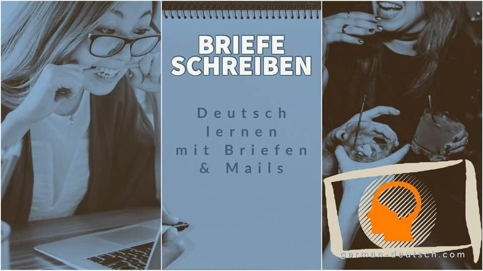 Deutsch Brief E Mail Schreiben A1 A2 B1 Einladung Zur Party