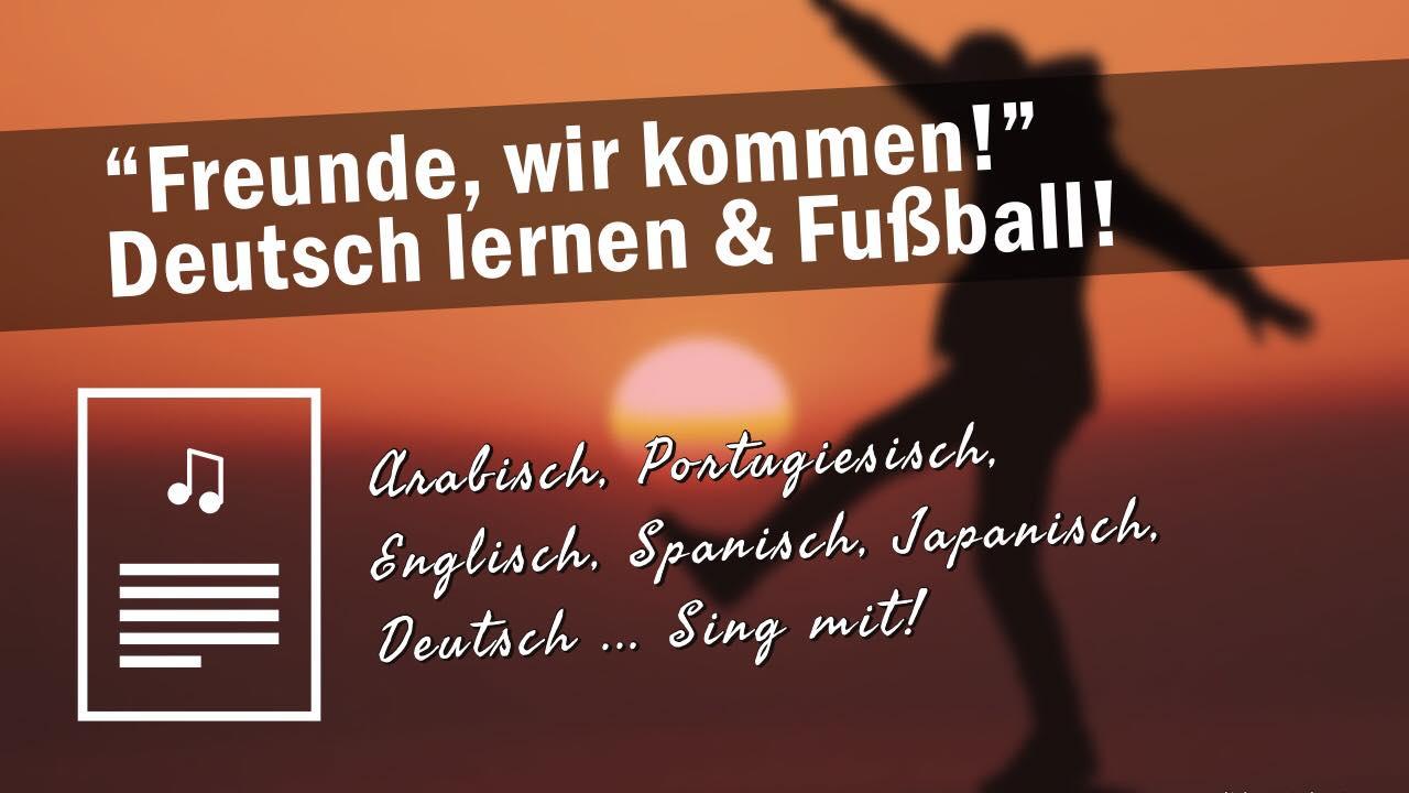 deutsch lernen und fussball