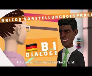 Bewerbung auf Deutsch: Vorstellungsgespräch ab B1 Bank Dialog