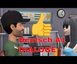 """Deutsch-Dialoge für A1, A2 und zur Wiederholung: """"1: Auf der Party"""". Deutsch sprechen und verstehen!"""