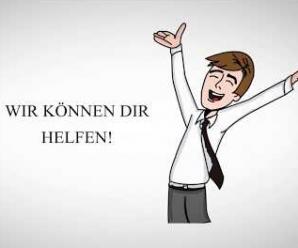 Paul lernt Deutsch. Wie lernt Paul Deutsch? Paul besucht einen Deutschkurs!